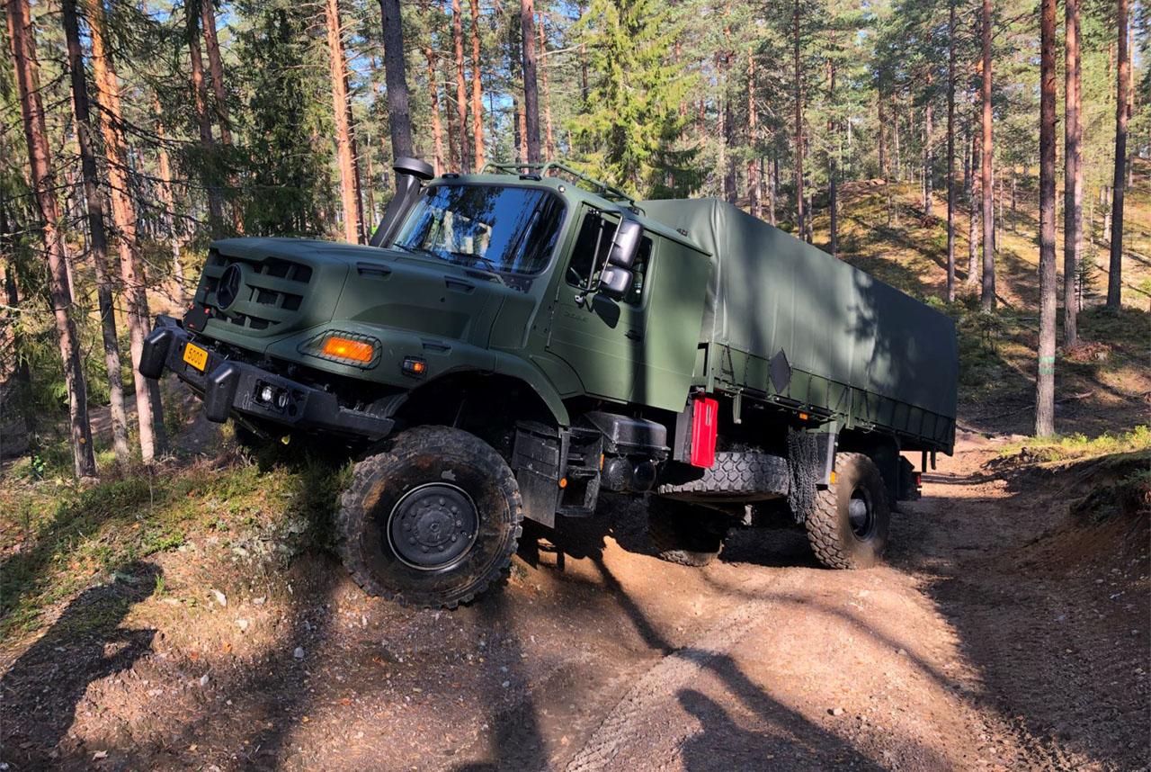 Zetros extreme mobililty trucks