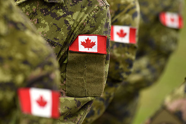 Supporting Canadian soldiers