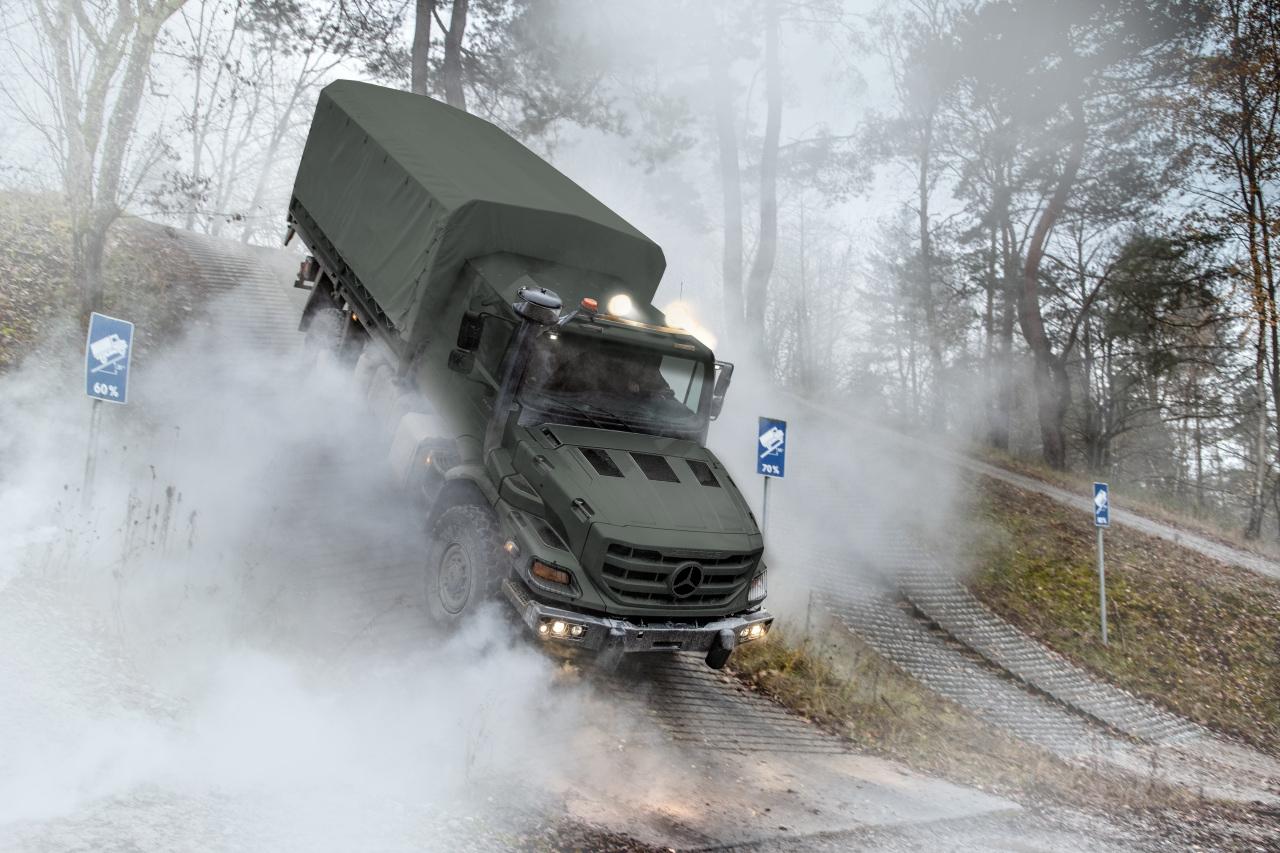 Zetros gradeability for off-road performance