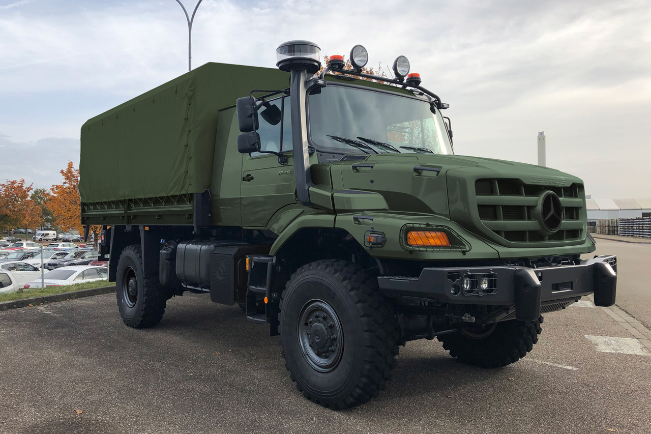 GD-LVM solution built on Zetros trucks